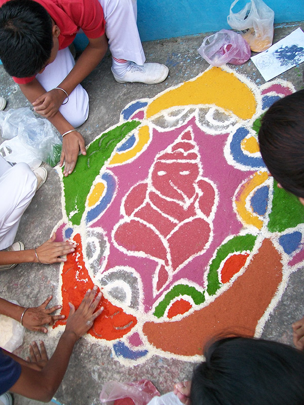 Rangoli-Making